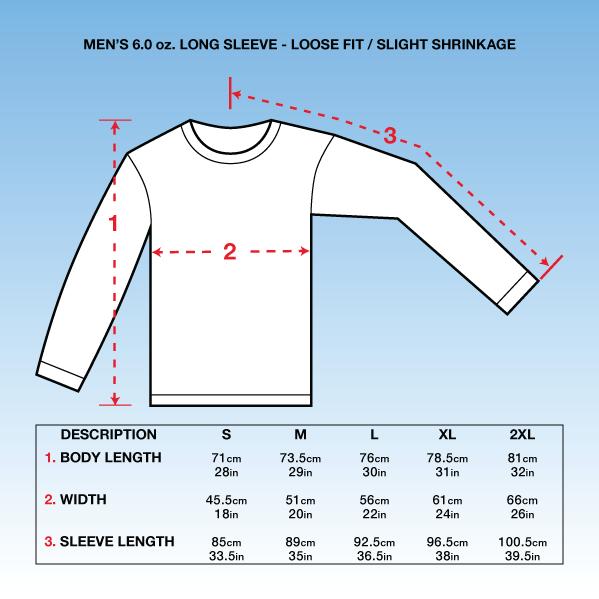 Mens Long T Shirt