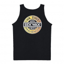 Sexwax Fade: Men's Tank Top Black Small