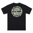 Sexwax Camo: Men's Short Sleeve Black Small
