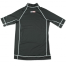 Sexwax Rashguard: Men's (2 inch Neck) Black Small