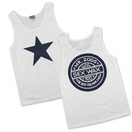 Sexwax Plain Star: Men's Tanktop