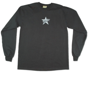 Silver Star: Men's Long Sleeve Black Small