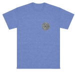 Sexwax Metal: Men's Pigment Dyed Short Sleeve Flo-Blue Small