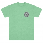 Sexwax Metal: Men's Pigment Dyed Short Sleeve Island Reef Small