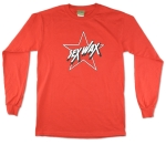 Sexwax Star: Menÿs Long Sleeve Red Small