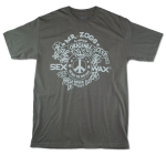 Freedom: Men's Fine Jersey Tee Charcol Small