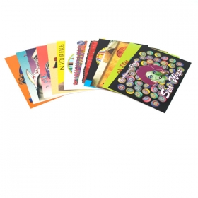 Sexwax Postcard Pack: Random assortment of 14 cards