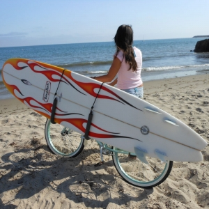 Side Ride: Board Carrier for Bicycles
