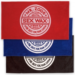 Sexwax Jacquard Knit, Prewashed Beach Towel